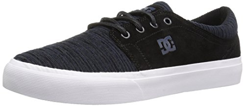DC Men's Trase Se Skateboarding Shoe, Black/Dawn, 7 M US