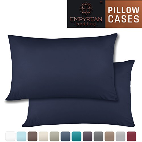 Big Save! Set of 2 Premium Standard-Size Pillowcases – Superior-Quality Microfiber Linen, Hypoalle...