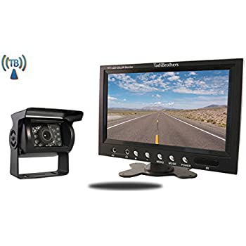 amazon com tadibrothers 5 inch monitor with wireless mounted rv rh amazon com Backup Camera System Tad Brothers Backing Sensors