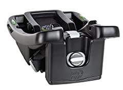 The Baby Jogger City GO infant car seat base is an adjustable 6-position base. It helps to ensure a proper and level install in your vehicle. Easy to see dual bubble level indicators provide confidence that you've securely, and correctly, ins...