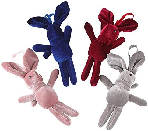 Conejo hecho a mano de peluche colgante adorable conejo juguete ...