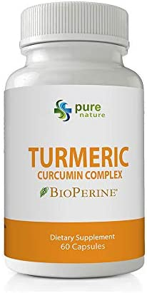 PureNature Turmeric Curcumin Extract Complex 1 Bottle