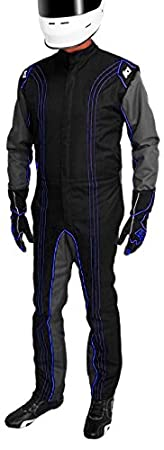 K1 Race Gear CIK//FIA Level 2 Approved Kart Racing Suit Red, 4X-Small