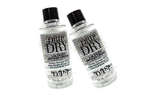 (Drip Dry Lacquer Drying Drops Size Easy to use drops also treat cuticles to the soothing dose of Jojoba and vitamin E : Big Size 3.5oz (Pack 2))