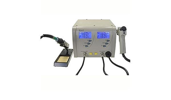 Estación de desoldar soldadura soldadura Digital SMD Soldador 24 VAC zd-917: Amazon.es: Bricolaje y herramientas