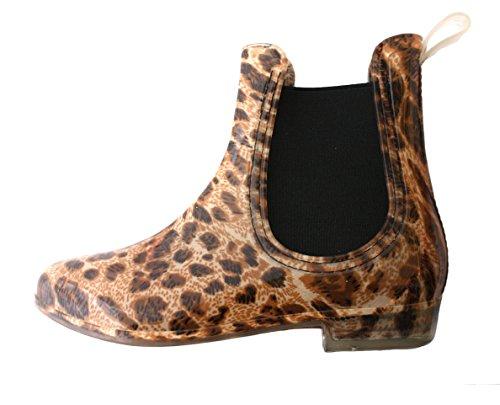 Sonia Originelli Nordseeboots Regenstiefel Schuhe Stiefeletten Leopard ...