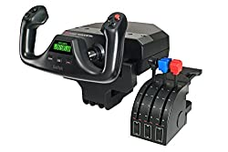 Image of the product Saitek Pro Flight Yoke that is listed on the catalogue brand of Logitech G. The product has been rated with a 4.7 over 5