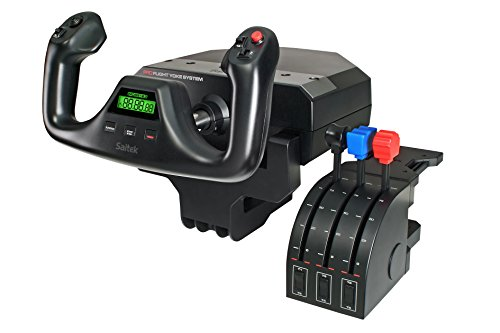Flight Simulator Pedals (Logitech G Saitek PRO Flight Yoke System)
