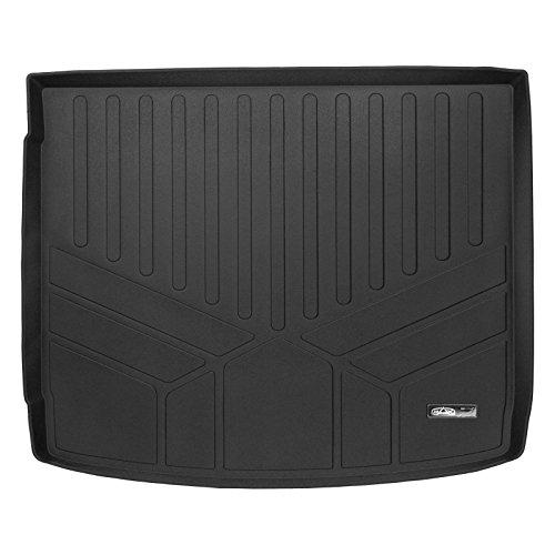 - SMARTLINER All Weather Cargo Liner Floor Mat Black for 2011-2018 Porsche Cayenne with Standard Bose Sound System