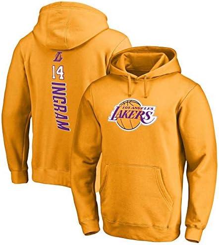 バスケットボールフーディーNo.14、メンズセーター、長袖プルオーバーフーディー、14#スポーツセータージャケット、No.14ファンジャージ、メンズ
