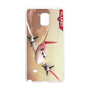 Planes 2 3 funda Samsung Galaxy Note 4 caja funda del teléfono celular del teléfono celular blanco cubierta de la caja funda EEECBCAAL12824