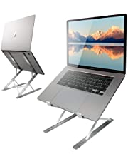 Bera Laptop Stand, Portable and Adjustable Laptop Riser, Suitable for Laptops up to 17.3 inches.