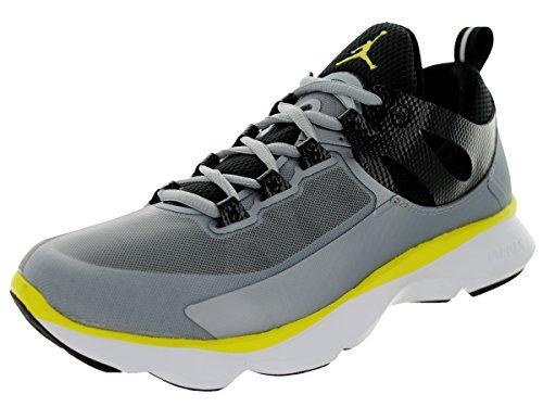 Nike Jordan Flight Runner Zapatillas de running de plata/negro/amarillo/blanco