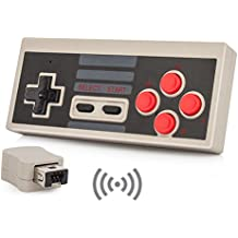 NES Classic Wireless Controller, YCCTEAM® Wireless Controller Console Gamepad for Nintendo NES Classic Mini Edition Gaming System with 2.4G Wireless Receiver