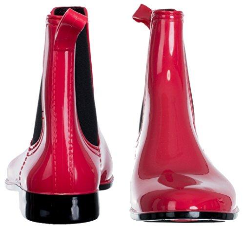 brandsseller Women's Chelsea Boots Pink/Red 6pTbw