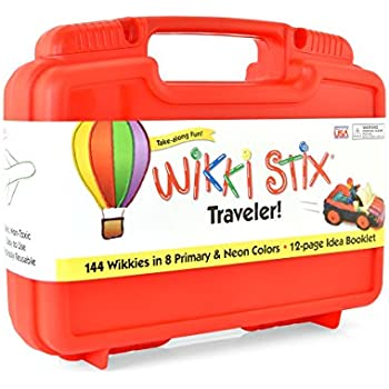 Wikki Stix Traveler Playset Craft Kit Molding & Sculpting Sticks
