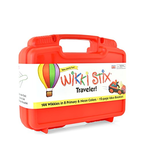 Wikki Stix Traveler Playset Craft Kit Molding & Sculpting Sticks