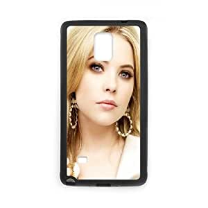Celebrities Beautiful Ashley Benson Samsung Galaxy Note 4 Cell Phone Case Black Delicate gift AVS_580230