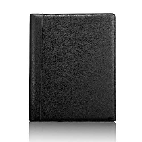 TUMI - Nassau Letter Pad Journal Notebook - Black Texture