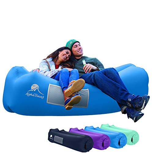 AlphaBeing Inflatable Lounger - Best Air Lounger for Travelling