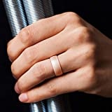 ThunderFit Silicone Rings, 7 Rings Wedding Bands