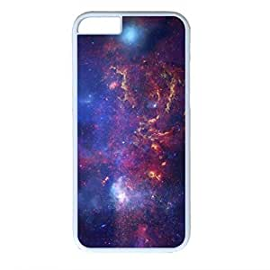 iPhone 6 Plus Case, iCustomonline Starry Sky Protective Back Case Cover Skin for iPhone 6 Plus 5.5 inch - White