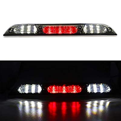 for 2015-2020 Ford F150 LED Bar 3rd Third Tail Brake Light Rear Cargo Lamp High Mount Stop light (Chrome Housing Smoke Lens): Automotive