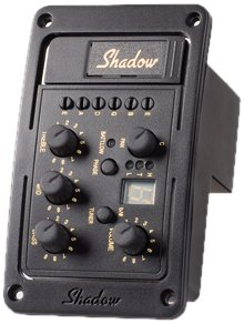 Shadow SH-4020-A Preamp with Nanoflex Pickup and PAN Control
