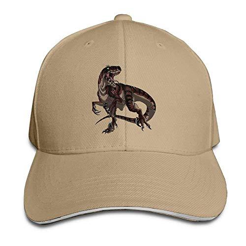 Dinosaur Cowboy Hat Cap Skull for Hats Men Women Sport Cowgirl Denim Red XqwdfwH