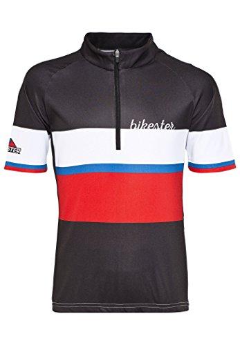 Bikester Basic Team Jersey Kids black/red Größe 152 2016 Oberteil