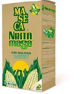Amazon.com : Maseca Nixtamasa Corn Masa Flour 4.4 Lb (Pack