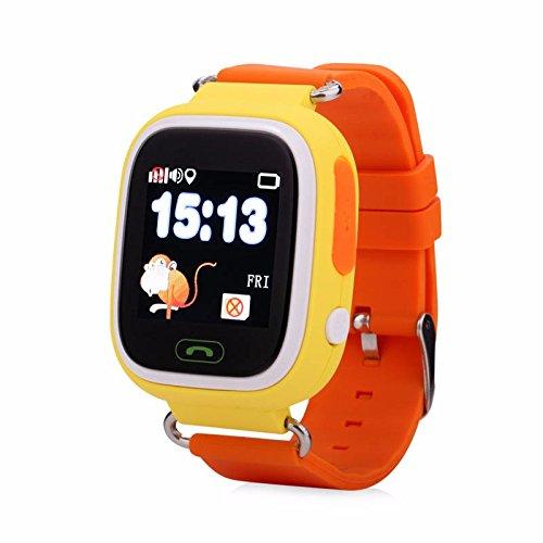 Q90 Samrt Reloj para Niños, GPS Tracker Simcard Smartwatch ...
