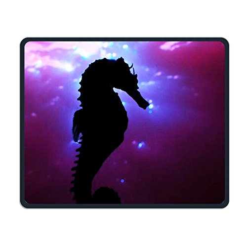 Underwater Hippocampus Computer Optical Game Mouse Pad Non Slip Neoprene Rubber Mouse Mat Computer And Notebook The Best Mouse Pad