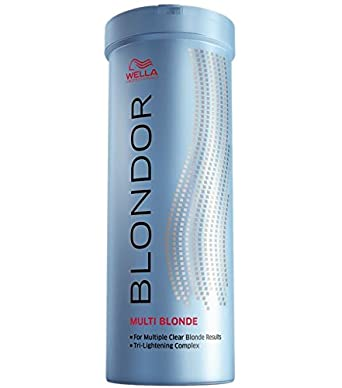 Wella Blondor Multi Blonde Dust-Free Bleaching Powder, 400 g, Pack of 1 (1 x 0.4 kg): Amazon.de: Premium Beauty