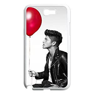 LSQDIY(R) Bruno Mars Samsung Galaxy Note 2 N7100 DIY Case, Brand New Samsung Galaxy Note 2 N7100 Plastic Case Bruno Mars