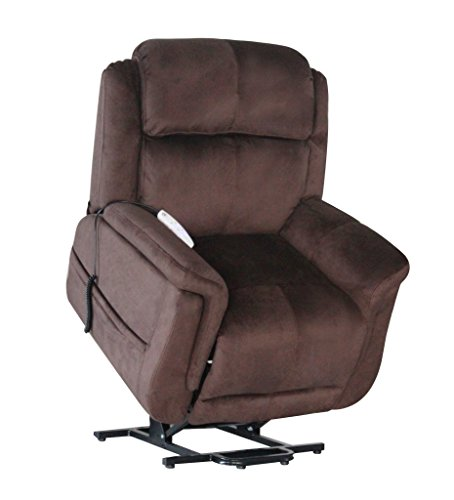 Serta Perfect Lift Chair – Full Lay Flat Recliner – Model 872-Fusion – Full Factory Warranty, Color Wellspring Walnut Review