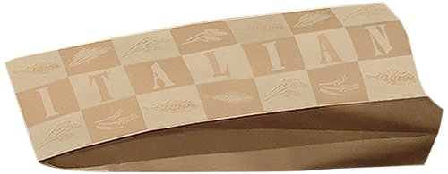 Bagcraft Papercon 300871 EcoCraft Paper Printed Bread Bag, Italian, 18'' Length x 6'' Width x 3-1/2 Height, Artisan (Case of 1000) by Bagcraft Papercon
