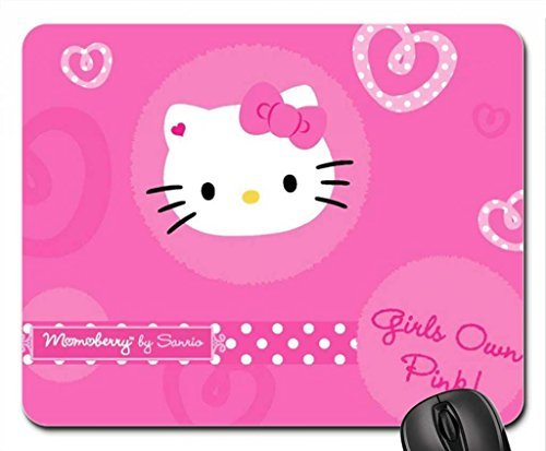 Hello Kitty Mouse Pad, Mousepad (10.2 x 8.3 x 0.12 inches)