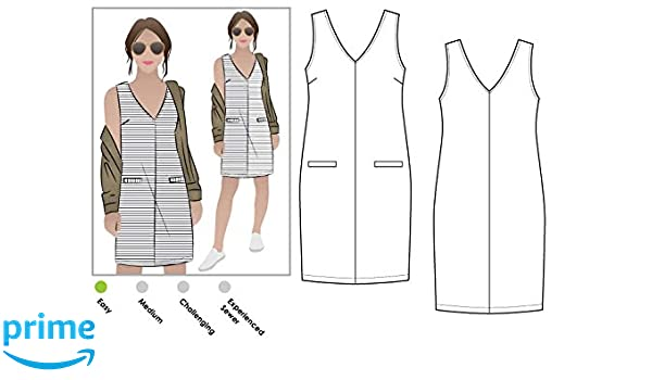 V-Neck Shift Dress Pattern