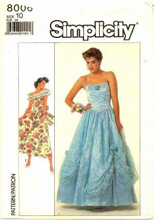 Fine Simplicity Prom Dress Patterns Ideas - Wedding Plan Ideas ...