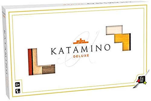(GIGAMIC - Katamino Deluxe - Puzzle Game for one Player, Exclusive Edition)