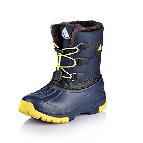 Nova Mountain Little Kid's Winter Snow Boots,NF NFWB02 Navy 13