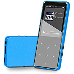 "MP3 Player 16GB Music Player with Bluetooth 4.2 Lonve Portable HiFi Lossless Sound MP3 Player 2.4"" Screen with FM Radio Voice Recorder Touch Button, Support up to 128GB"