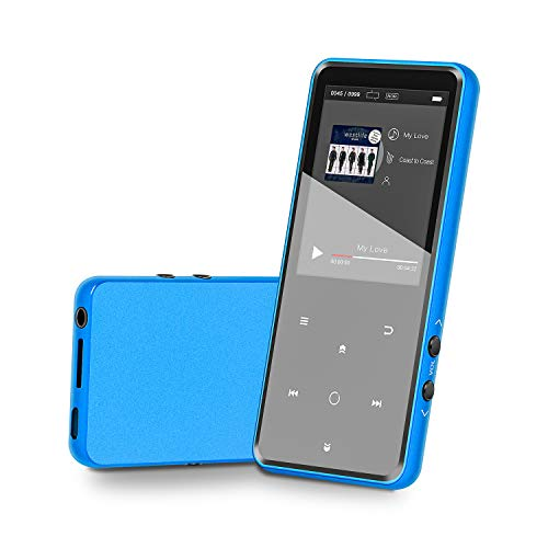 MP3 Player 16GB Music Player with Bluetooth 4.2 Lonve Portable HiFi Lossless Sound MP3 Player 2.4″ Screen with FM Radio Voice Recorder Touch Button, Support up to 128GB
