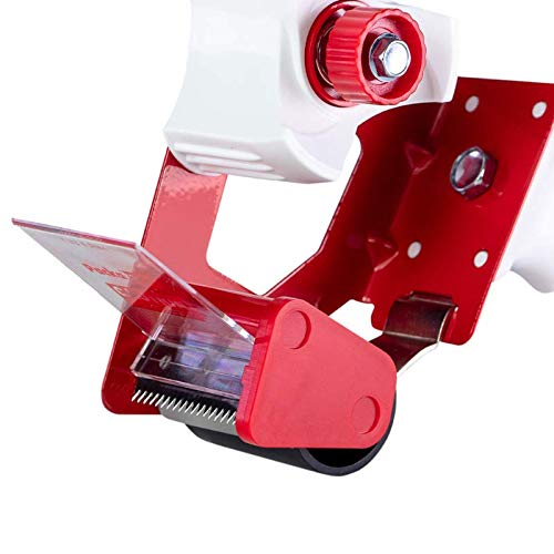 incluye 2 rollos de cinta adhesiva transparente, 48 mm x 66 m Dispensador de cinta adhesiva Packatape