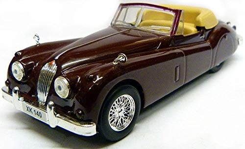 Jaguar XK140 Roadster 1954 Year Luxury Sports Car 1/43 Scale Collectible Model Vehicle