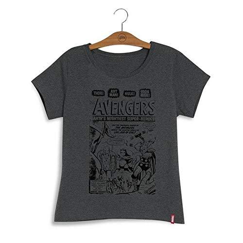 Camiseta Feminina Marvel Avengers Vintage