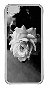 Case For Iphone 6 4.7Inch Cover Case, Personalized Custom Cute Rose Case For Iphone 6 4.7Inch Cover PC Clear Case