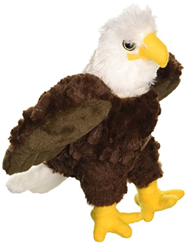 Wild Republic Bald Eagle Plush, Stuffed Animal, Plush Toy, Gifts for Kids, Cuddlekins 8 Inches