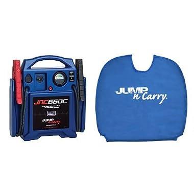 Jump-N-Carry JNC660C 1700 Peak Amp 12-Volt Jump Starter (CEC Compliant) with Bag